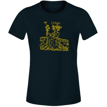 Virgo Junior Fit Ladies Tee