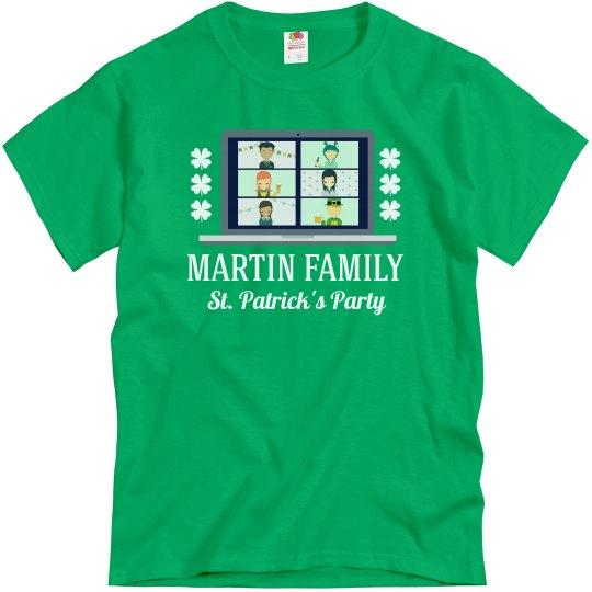 Virtual St. Patrick's Family Custom Tees