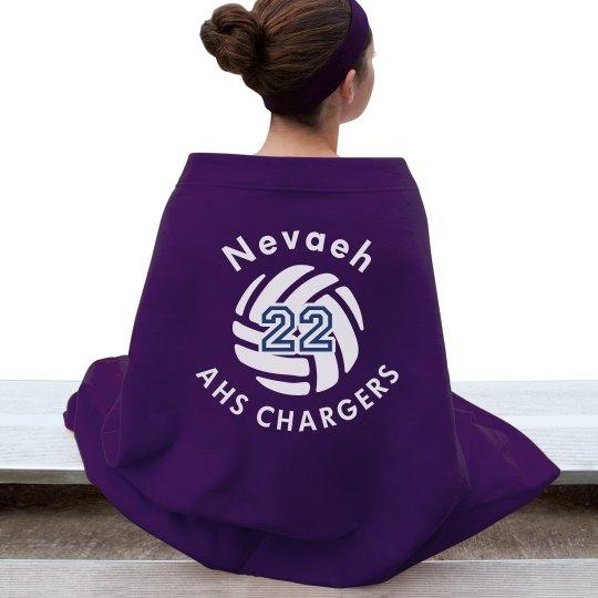 Volleyball Blanket