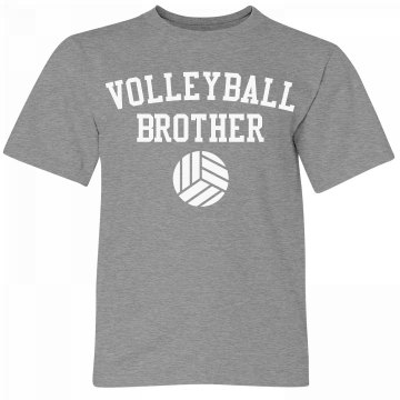 Volleyball Brother Youth Tee