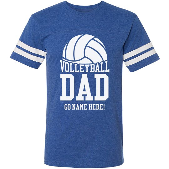 Volleyball Dad Cheer