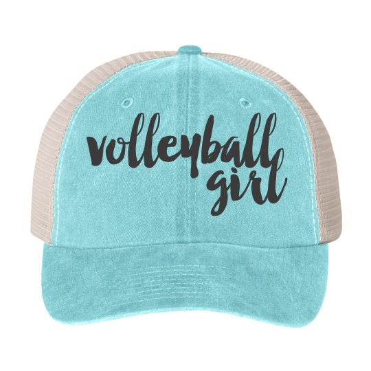 Volleyball hat for the Volleyball Girl