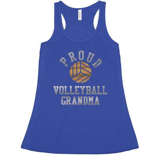 Volleyball Metallic Grandma