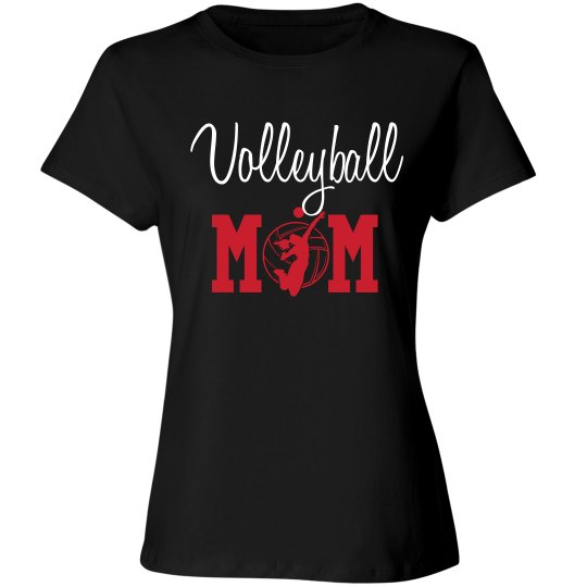 Volleyball Mom - enter name and # on back