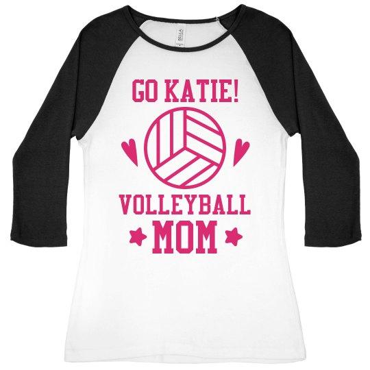 Volleyball Mom Cheer