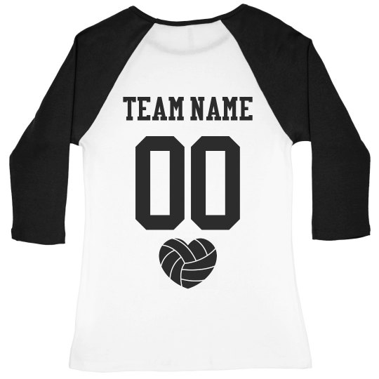 Volleyball Team Raglan