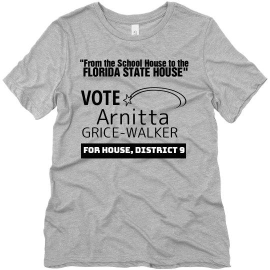 Vote Arnitta Grice-Walker