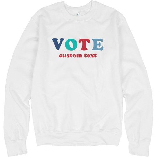 Vote Custom Election Tee