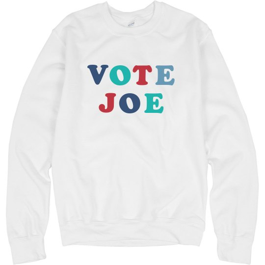 Vote Joe 2020 Election Sweatshirt