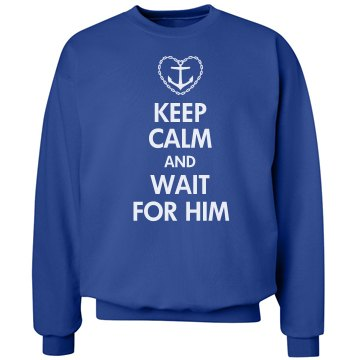 Wait For Him Crew Neck