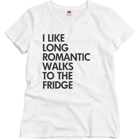 Walk to the fridge