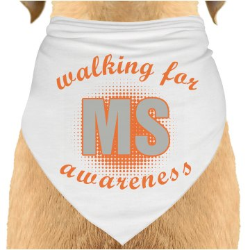 Walking For MS Bandana