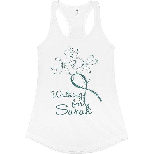 Walking for Sarah