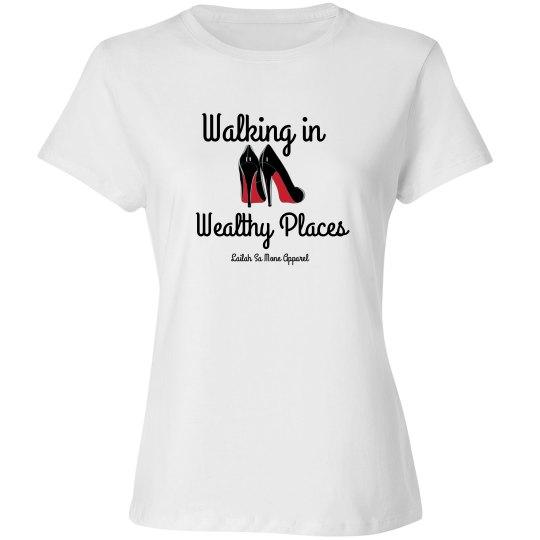 Walking in wealthy places