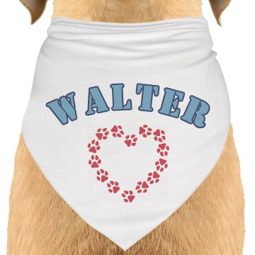 Walter Dog Bandana