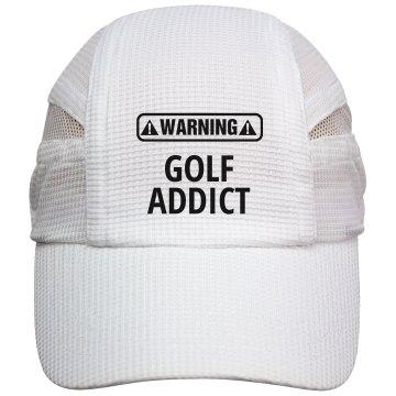 Warning Golf Addict