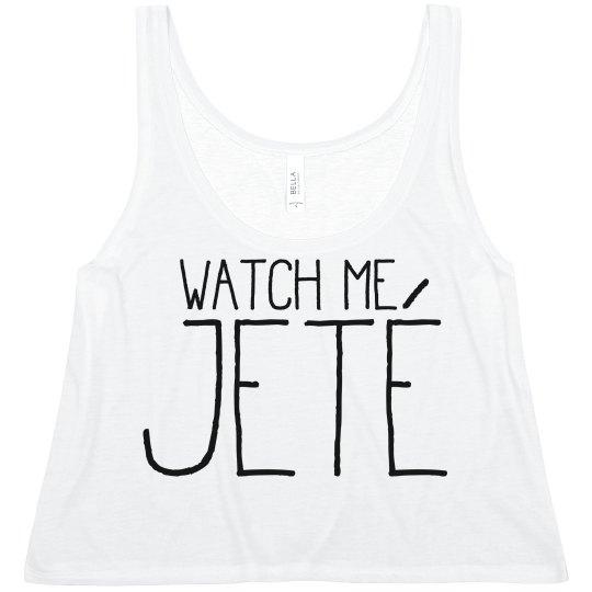 Watch Me Jeté Ballet BFF Crop