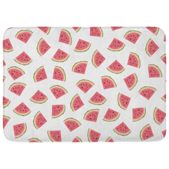 Watermelon Pattern Bathroom Decor