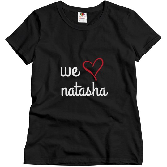 We heart natasha #3 (women's)