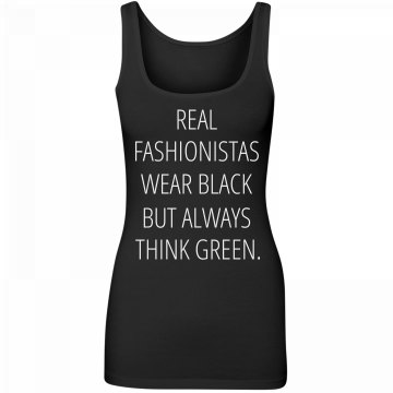 Wear Black Think Green