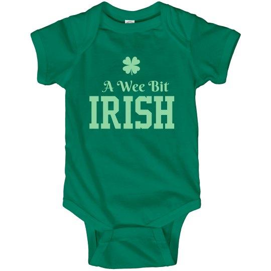 Wee Bit Irish St. Patrick's Baby