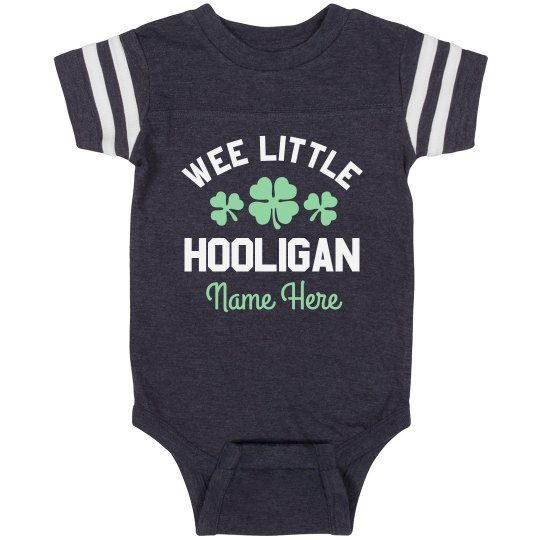 Wee Little Hooligan St. Pat Custom