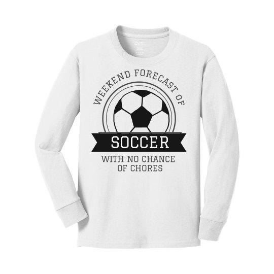 Weekend Forecast Of Soccer Design