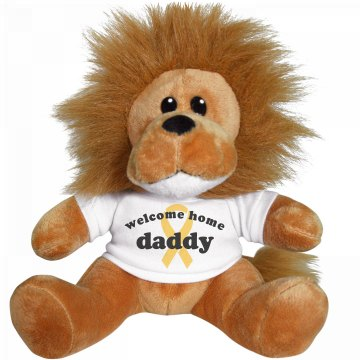 Welcome Home Daddy Lion