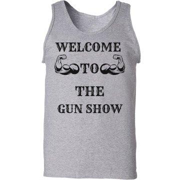 Welcome To The Gun Show Men's Tank