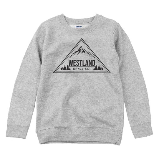 Westland Dance Co. Youth Crew-neck long sleeve