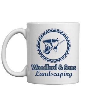 Wheelbarrow Mug