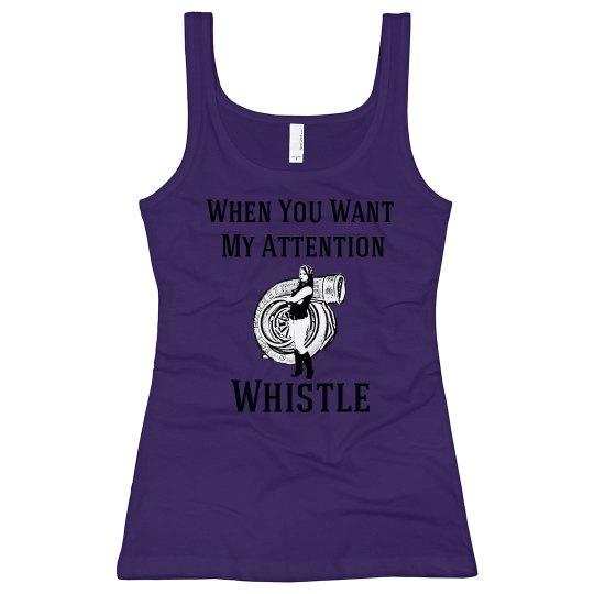 Whistle Tank