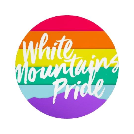White Mountains Pride Button