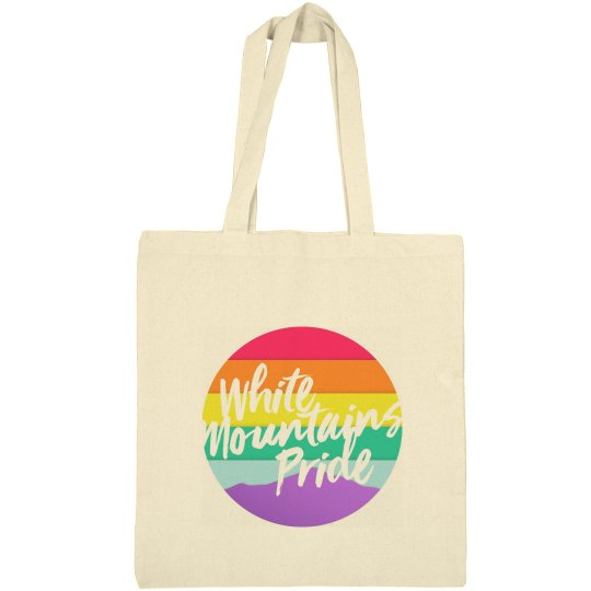 White Mountains Pride Canvas Bag