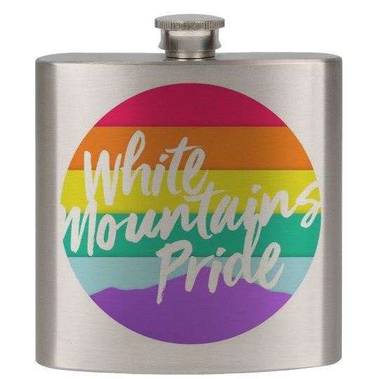 White Mountains Pride Flask