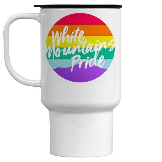 White Mountains Pride Travel Mug