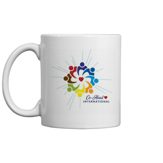 """White Mug """"There is a Healer in Me"""""""