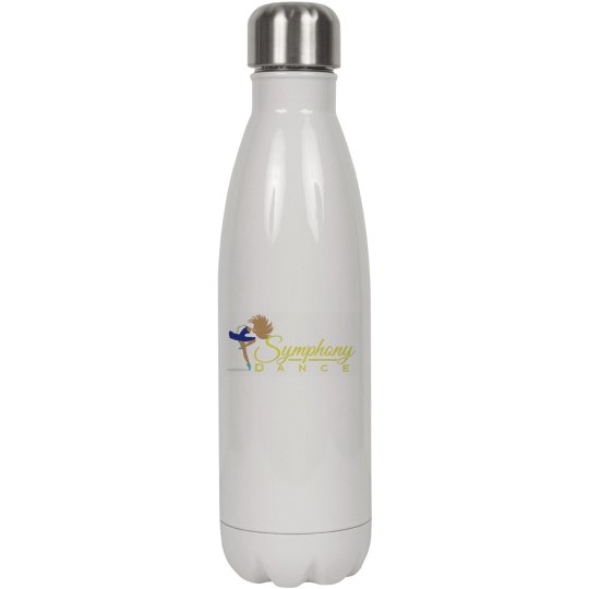 White Symphony Water Bottle