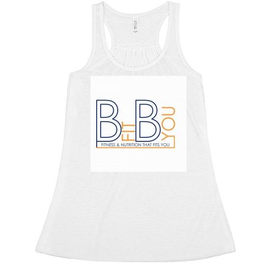 White Tank with Original Bfit Byou Logo