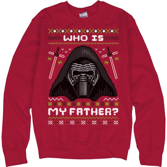 Who Is Kylo Ren Ugly Xmas