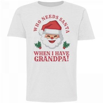 Who Needs Santa, Grandpa