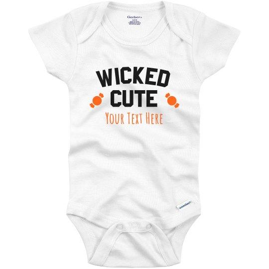 Wicked Cute Candy Custom Onesie