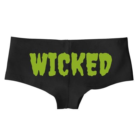 Wicked Halloween Undies