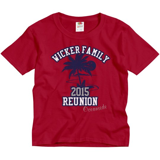Wicker-Youth Red