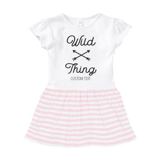 Wild Thing Custom Infant Dress