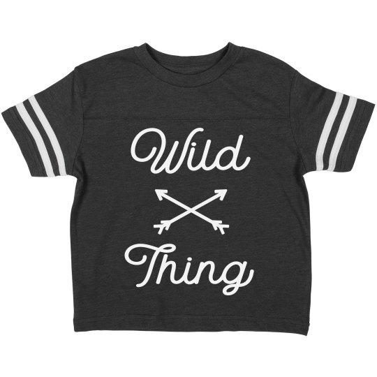 Wild Thing Toddler Tee