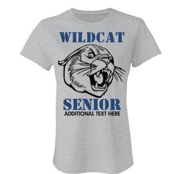Wildcat Senior Mascot