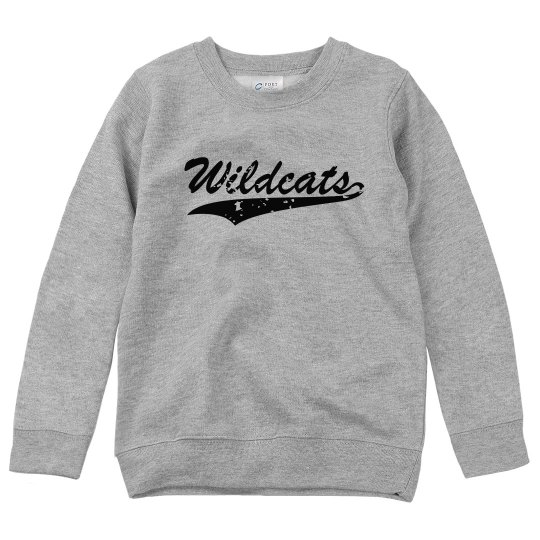Wildcats youth crewneck
