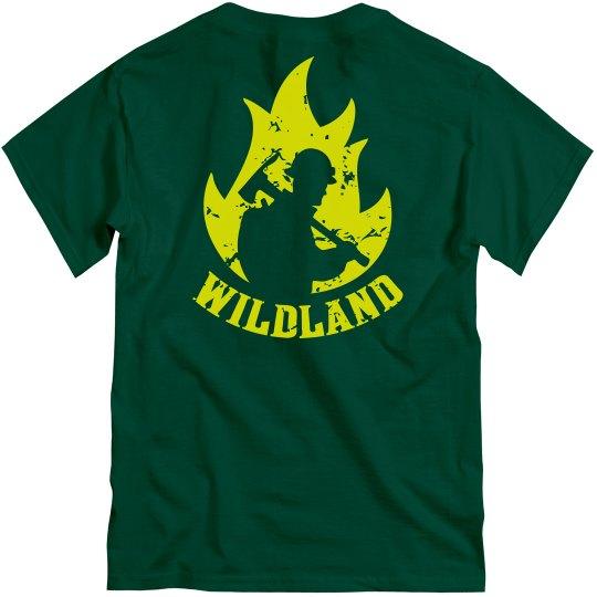 Wildland Firefighter in Flame
