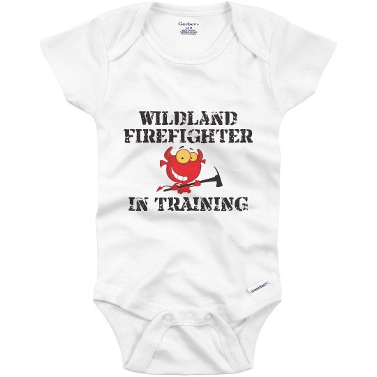 Wildland Firefighter in Training